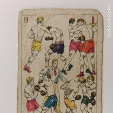 Coleccionismo deportivo: CROMO DE BOXEO-CUERPO A CUERPO-CHOCOLATE AMATLLER-VER REVERSO-(V-17.752). Lote 178979310