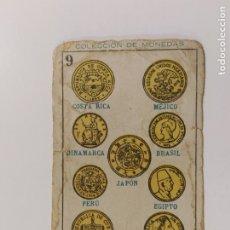 Coleccionismo deportivo: CROMO DE BOXEO-OTRAS NORMAS DE BOXEO-CHOCOLATE AMATLLER-COLECCION DE MONEDAS-VER REVERSO-(V-17.758). Lote 178979532