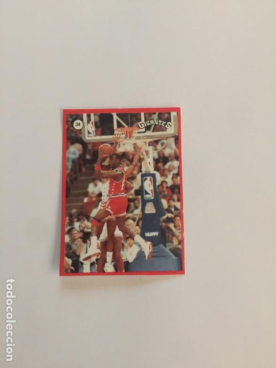 MICHAEL JORDAN N 34 GIGANTES DEL BASKET (Coleccionismo Deportivo - Cromos otros Deportes)