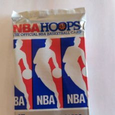 Coleccionismo deportivo: SOBRE SIN ABRIR NBA HOOPS 1990-91. Lote 179111557