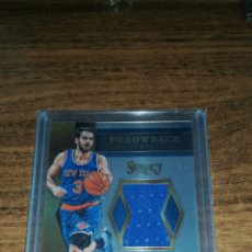 Coleccionismo deportivo: JOSÉ CALDERÓN NEW YORK KNICKS PATCH THROWBACK MEMORABILIA PANINI NBA SELECT 17 18 2017 2018. Lote 179158333