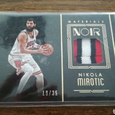 Coleccionismo deportivo: NIKOLA MIROTIC CHICAGO BULLS BARCELONA NOIR NBA BASKETBALL PATCH /35. Lote 179245721
