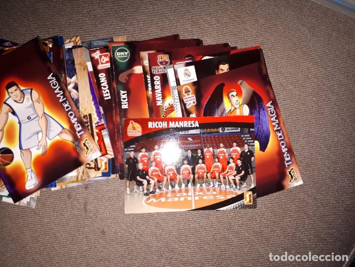 Coleccionismo deportivo: Cartas Liga Baloncesto Temporada 08-09 - Foto 2 - 180170482
