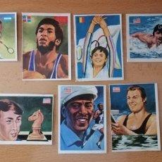 Coleccionismo deportivo: 1979 ASES MUNDIALES DEL DEPORTE COMANECCI . Lote 180178885