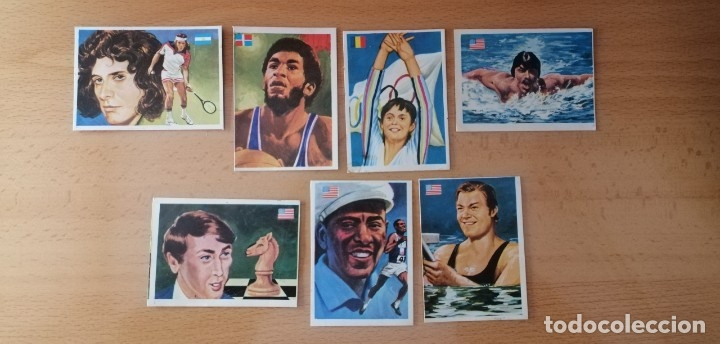 1979 ASES MUNDIALES DEL DEPORTE WEINSMULLER (Coleccionismo Deportivo - Cromos otros Deportes)