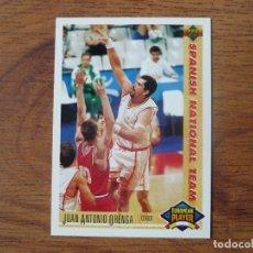 Coleccionismo deportivo: UPPER DECK 1992 NBA Nº 122 JUAN ANTONIO ORENGA (ESPAÑA) - CROMO BASKETBALL 92. Lote 180192670