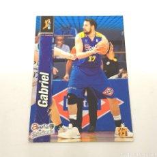 Coleccionismo deportivo: (C-21) CROMO ACB LIGA 2010-2011 10/11 - (ASEFA ESTUDIANTES) 12 GABRIEL. Lote 180404837
