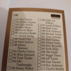Coleccionismo deportivo: CHECKLIST 298 NBA SKYBOX 1990-91. Lote 181230870