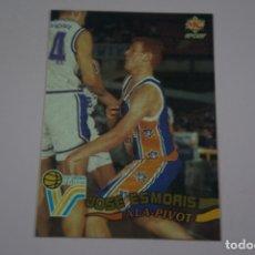Coleccionismo deportivo: CROMO CARD DE BALONCESTO JOSE ESMORIS DEL C.B. GIRONA VALVI Nº 167 LIGA ACB 96 DE MUNDICROMO SPORT. Lote 269968378