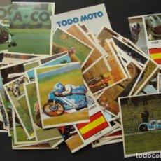 Coleccionismo deportivo: SURTIDO DE MÁS DE 90 CROMOS - COLECCIÓN TODO MOTO 1983 - EDICIONES CÓMIC ROMO - SALIDA 0,01€. Lote 181459601