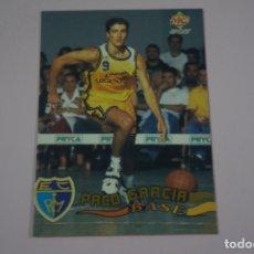 Coleccionismo deportivo: CROMO CARD DE BALONCESTO PACO GARCIA DEL ESTUDIANTES Nº 66 LIGA ACB 96 DE MUNDICROMO SPORT. Lote 198580633