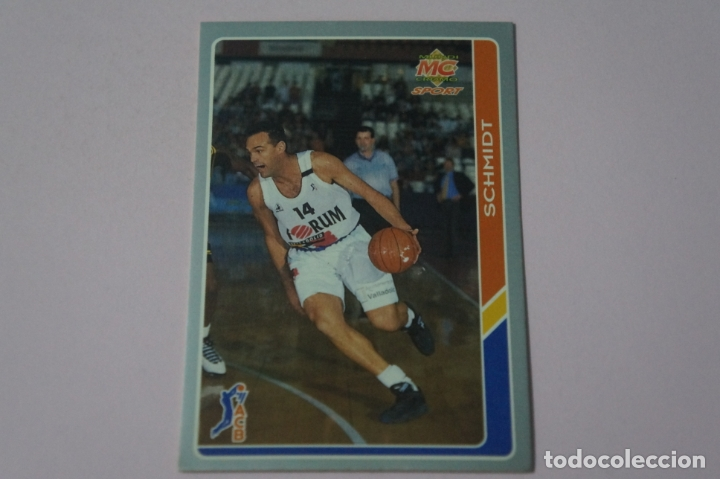 CROMO CARD DE BALONCESTO SCHMIDT DEL FORUM VALLADOLID C.B. Nº 180 LIGA ACB 95 DE MUNDICROMO SPORT (Coleccionismo Deportivo - Cromos otros Deportes)