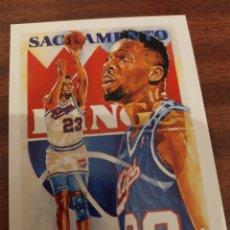 Coleccionismo deportivo: WAYMAN TISDALE 377 NBA HOOPS 1990-91 SACRAMENTO KINGS. Lote 181771417