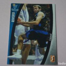 Coleccionismo deportivo: CROMO CARD DE BALONCESTO RIVERO DEL CAJASOL Nº 58 LIGA ACB 08-09 DE PANINI. Lote 182225953