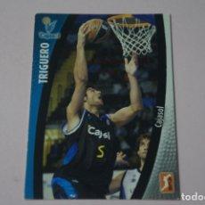 Coleccionismo deportivo: CROMO CARD DE BALONCESTO TRIGUERO DEL CAJASOL Nº 68 LIGA ACB 08-09 DE PANINI. Lote 182226036