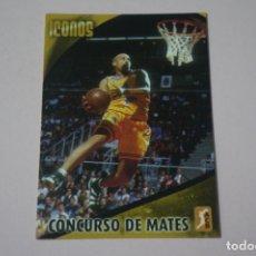 Coleccionismo deportivo: CROMO CARD DE BALONCESTO CONCURSO DE MATES Nº 314 LIGA ACB 08-09 DE PANINI. Lote 182228156