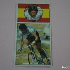 Coleccionismo deportivo: CROMO DE CICLISMO MERINO LEJARRETA SIN PEGAR Nº 2 AÑO 1987 DEL ALBUM ASES DEL PEDAL DE J. MERCHANTE. Lote 182255116