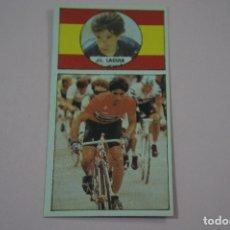Coleccionismo deportivo: CROMO DE CICLISMO J.L. LAGUIA SIN PEGAR Nº 11 AÑO 1987 DEL ALBUM ASES DEL PEDAL DE J. MERCHANTE. Lote 182255837