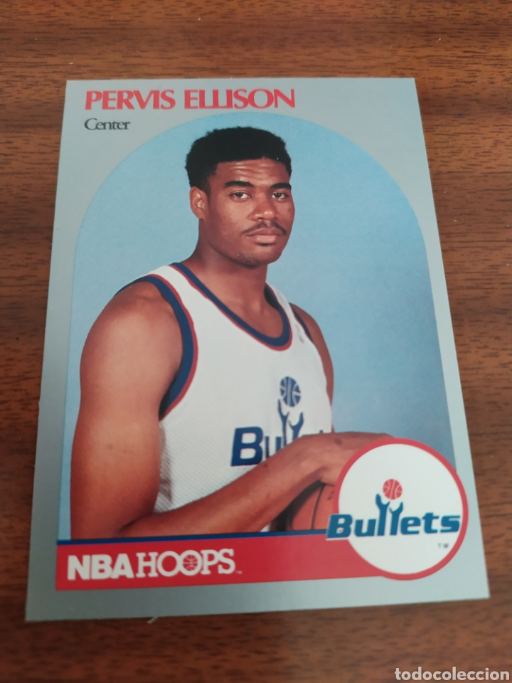 Coleccionismo deportivo: Pervis Ellison 438 NBA Hoops 1990-91 Washington Bullets - Foto 1 - 182665625