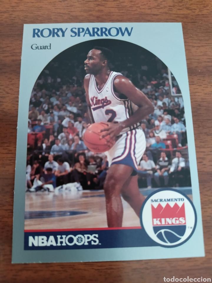 RORY SPARROW 430 NBA HOOPS 1990-91 SACRAMENTO KINGS (Coleccionismo Deportivo - Cromos otros Deportes)