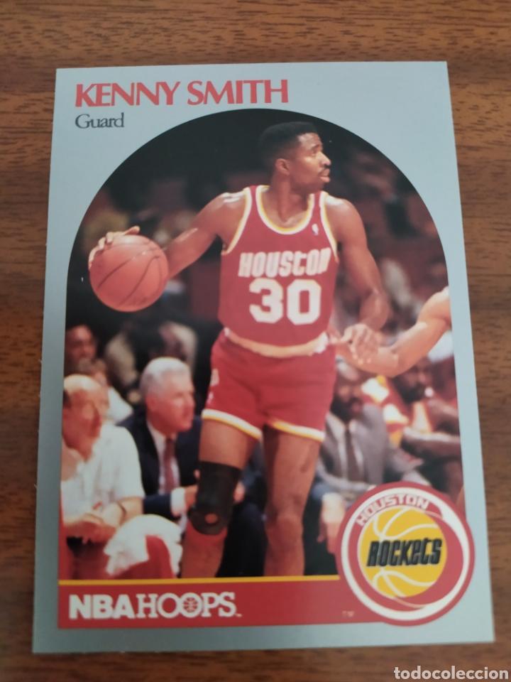 KENNY SMITH 414 NBA HOOPS 1990-91 HOUSTON ROCKETS (Coleccionismo Deportivo - Cromos otros Deportes)