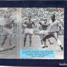 Coleccionismo deportivo: CROMO - RÉCORDS GUINNESS - FÚTBOL - CHEERIOS - AÑO 1994.. Lote 182874658