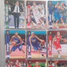 Coleccionismo deportivo: CROMOS ACB 2010-11 LOTE DE 38 CROMOS SIN REPETIR. Lote 183279622