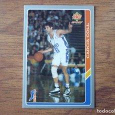 Coleccionismo deportivo: MUNDICROMO BALONCESTO ACB 95 Nº 5 GARCIA COLL (REAL MADRID) - CROMO BASKET 1994 1995. Lote 183716252