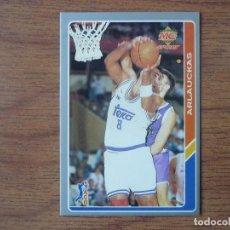Coleccionismo deportivo: MUNDICROMO BALONCESTO ACB 95 Nº 7 JOE ARLAUCKAS (REAL MADRID) - CROMO BASKET 1994 1995. Lote 183716781