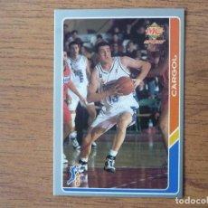 Coleccionismo deportivo: MUNDICROMO BALONCESTO ACB 95 Nº 10 PEP CARGOL (REAL MADRID) - CROMO BASKET 1994 1995. Lote 183718671