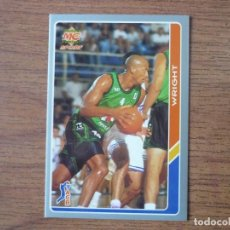 Coleccionismo deportivo: MUNDICROMO BALONCESTO ACB 95 Nº 27 HOWARD WRIGHT (JOVENTUT BADALONA) - CROMO BASKET 1994 1995 . Lote 183720697