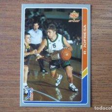 Coleccionismo deportivo: MUNDICROMO BALONCESTO ACB 95 Nº 28 RAFA JOFRESA (JOVENTUT BADALONA) - CROMO BASKET 1994 1995 . Lote 183721243