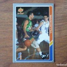 Coleccionismo deportivo: MUNDICROMO BALONCESTO ACB 95 Nº 30 VILLACAMPA (JOVENTUT BADALONA) - CROMO BASKET 1994 1995 . Lote 183721788