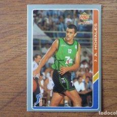 Coleccionismo deportivo: MUNDICROMO BALONCESTO ACB 95 Nº 33 MORALES (JOVENTUT BADALONA) - CROMO BASKET 1994 1995 . Lote 183721978