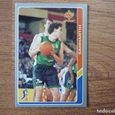 Coleccionismo deportivo: MUNDICROMO BALONCESTO ACB 95 Nº 34 SANMARTIN (JOVENTUT BADALONA) - CROMO BASKET 1994 1995 . Lote 183722176