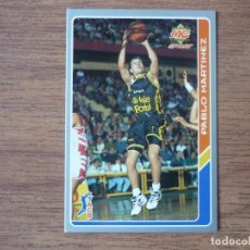 Coleccionismo deportivo: MUNDICROMO BALONCESTO ACB 95 Nº 39 PABLO MARTINEZ (ESTUDIANTES) - CROMO BASKET 1994 1995. Lote 183726401