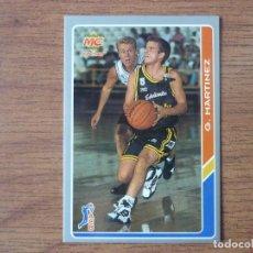 Coleccionismo deportivo: MUNDICROMO BALONCESTO ACB 95 Nº 40 GONZALO MARTINEZ (ESTUDIANTES) - CROMO BASKET 1994 1995. Lote 183726498