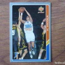 Coleccionismo deportivo: MUNDICROMO BALONCESTO ACB 95 Nº 51 MARCELO NICOLA (TAUGRES BASKONIA) - CROMO BASKET 1994 1995 . Lote 183727605