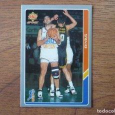 Coleccionismo deportivo: MUNDICROMO BALONCESTO ACB 95 Nº 52 RAMON RIVAS (TAUGRES BASKONIA) - CROMO BASKET 1994 1995 . Lote 183727838