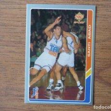 Coleccionismo deportivo: MUNDICROMO BALONCESTO ACB 95 Nº 55 SANTI ABAD (TAUGRES BASKONIA) - CROMO BASKET 1994 1995 . Lote 183728527