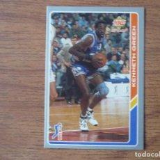 Coleccionismo deportivo: MUNDICROMO BALONCESTO ACB 95 Nº 58 KENNY GREEN (TAUGRES BASKONIA) - CROMO BASKET 1994 1995 . Lote 183729032