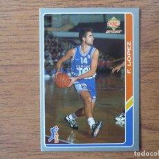 Coleccionismo deportivo: MUNDICROMO BALONCESTO ACB 95 Nº 60 FERRAN LOPEZ (TAUGRES BASKONIA) - CROMO BASKET 1994 1995 . Lote 183729475