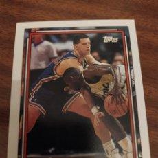 Coleccionismo deportivo: DRAZEN PETROVIC 234 NBA TOPPS 1992-93 NEW JERSEY NETS. Lote 183751807
