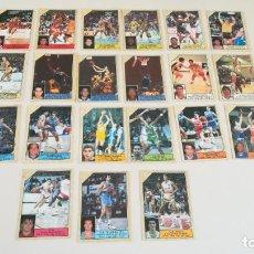 Coleccionismo deportivo: LOTE 21 CROMOS BALONCESTO 89 ACB J MERCHANTE CONVERSE. Lote 184507638