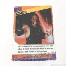 Coleccionismo deportivo: (C-25) CARTA WWE 2015 DE PANINI. N°114 KANE. Lote 186188141