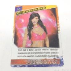 Coleccionismo deportivo: (C-25) CARTA WWE 2015 DE PANINI. N°131 ROSA MENDES. Lote 186188497
