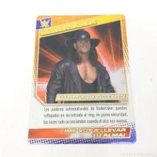 Coleccionismo deportivo: (C-25) CARTA WWE 2015 DE PANINI. N°110 UNDERTAKER. Lote 186188625