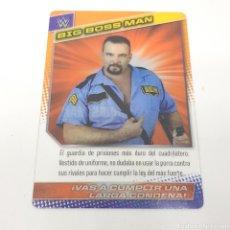 Coleccionismo deportivo: (C-25) CARTA WWE 2015 DE PANINI. N°178 BIG BOSS MAN. Lote 186188671