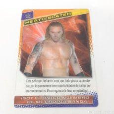 Coleccionismo deportivo: (C-25) CARTA WWE 2015 DE PANINI. N°079 HEATH SLATER. Lote 186188751