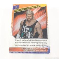 Coleccionismo deportivo: (C-25) CARTA WWE 2015 DE PANINI. N°034 DOLPH ZIGGLER. Lote 186190071